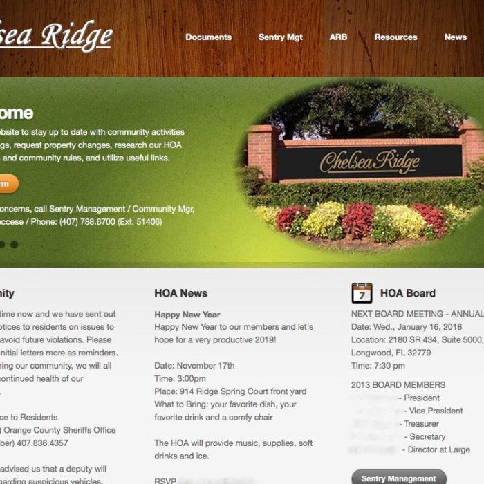 Chelsea Ridge HOA