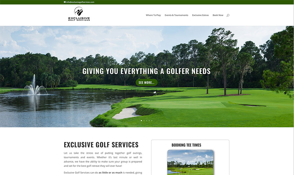 Exclusive Golf Services
